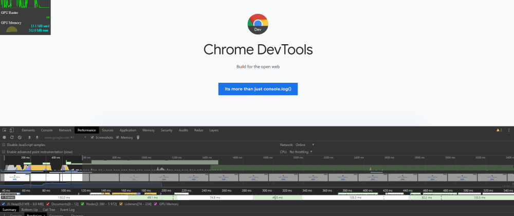 Cover image for Doing more with Chrome DevTools