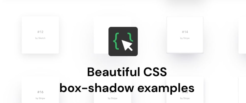 Cover image for Beautiful box-shadow examples - A curated collection of 83 free beautiful box-shadow 🎨