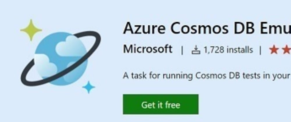 Cover image for How to use Azure Cosmos Emulator as a local MongoDb database 🌍