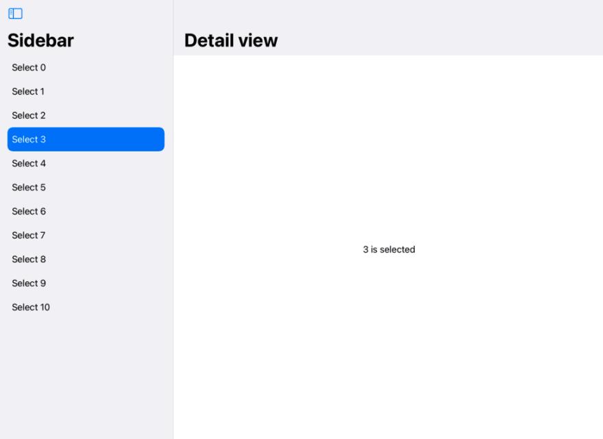 Default Sidebar