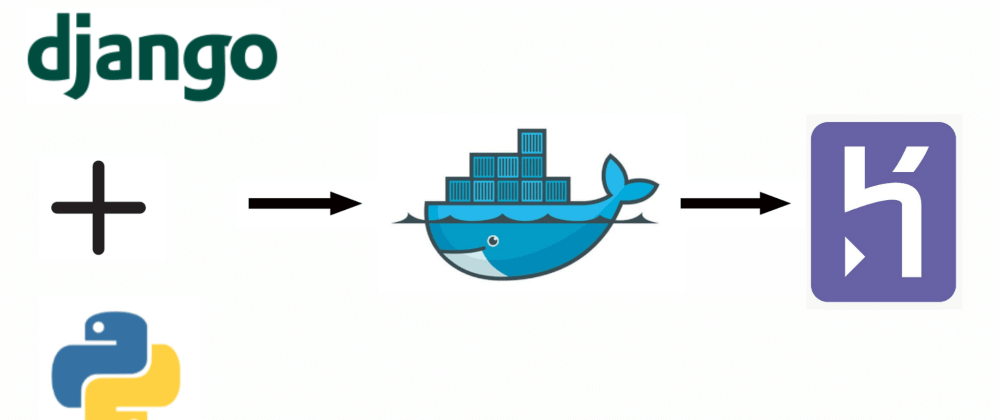 Cover image for How to deploy containerized Python and Django application on Heroku