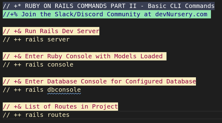 Rails Commands Part II
