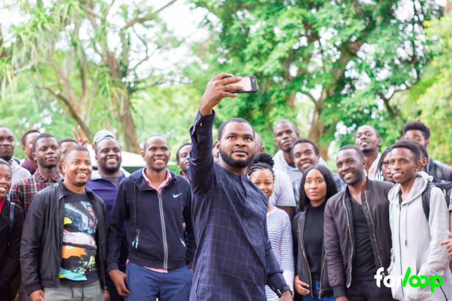 forloopZimbabwe Selfie