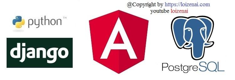 Angular 11 Django CRUD PostgreSQL tutorial