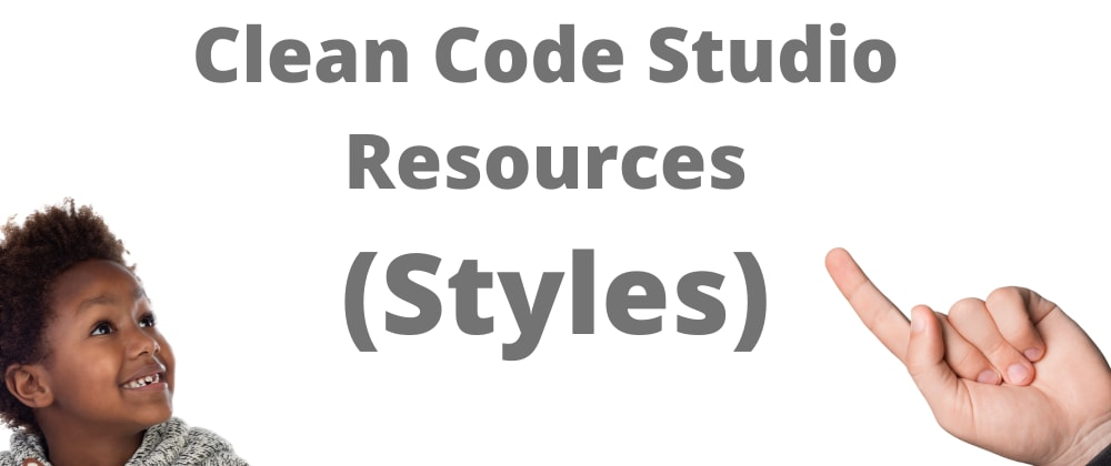 Cover image for Clean Code Studio Software Resources (Style)
