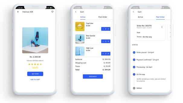 Flutkit – Flutter UI Kit best flutter app templates