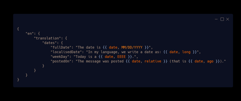 Cover image for React: automatic date formatting in translations (i18next + date-fns)