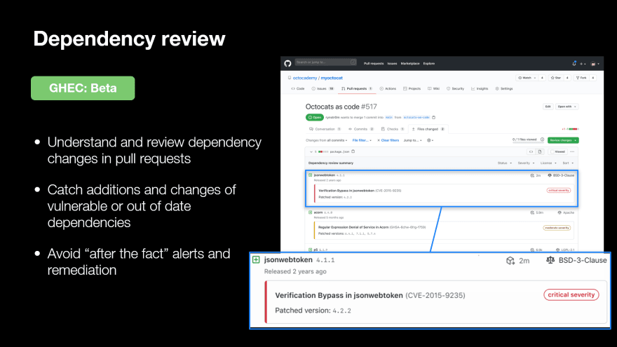 Dependency Review