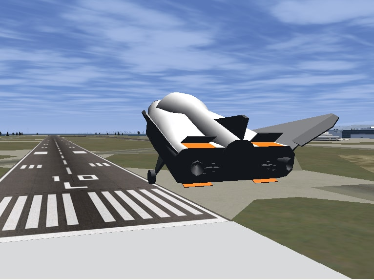 NASA's HL-20 simulation with Simulink.