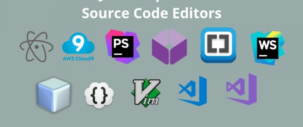 Cover image for What is the best IDE for writing Javascript programs?