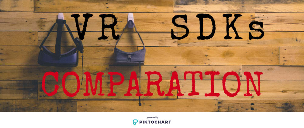 Cover image for VR SDKs Comparation to give you a Headstart in VR Development