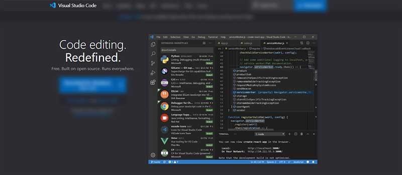 Programming Kit - VSCode editor.