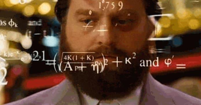 Hangover Math Scene