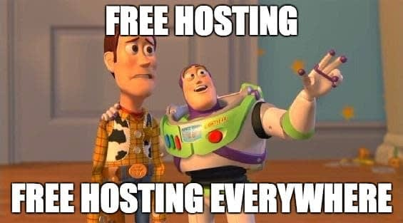 Free Hosting Meme