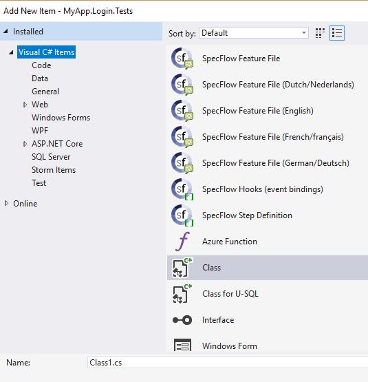 Add feature file
