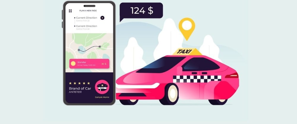 Cover image for Ride-hailing App Development: Technology Stack to Build a Taxi Booking App