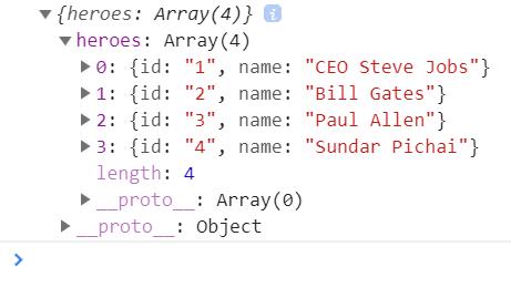 JSON Console Log