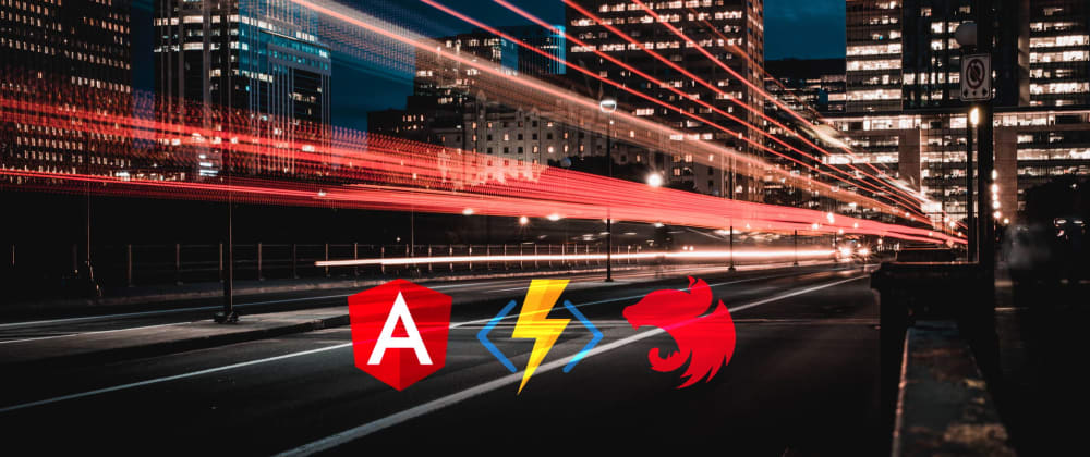Cover image for Build your first serverless app with Angular, NestJS and Azure