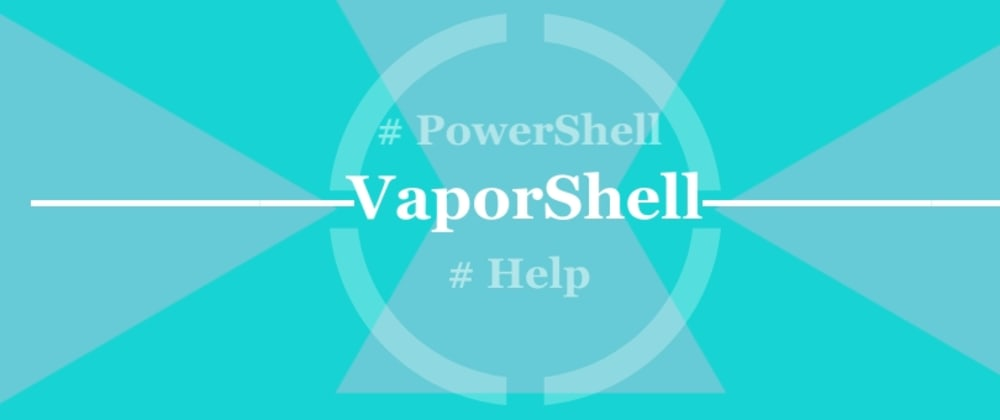 Cover image for Scraping AWS Docs to Generate PowerShell Help in VaporShell