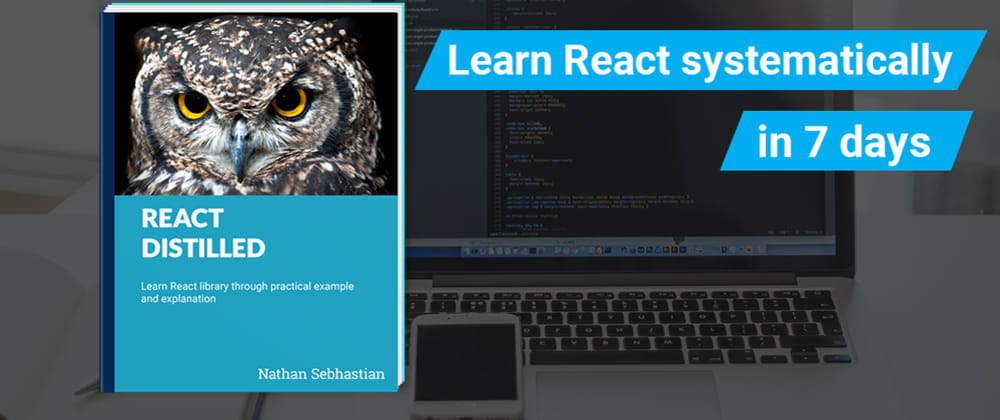Cover image for I wrote a book about learning React!