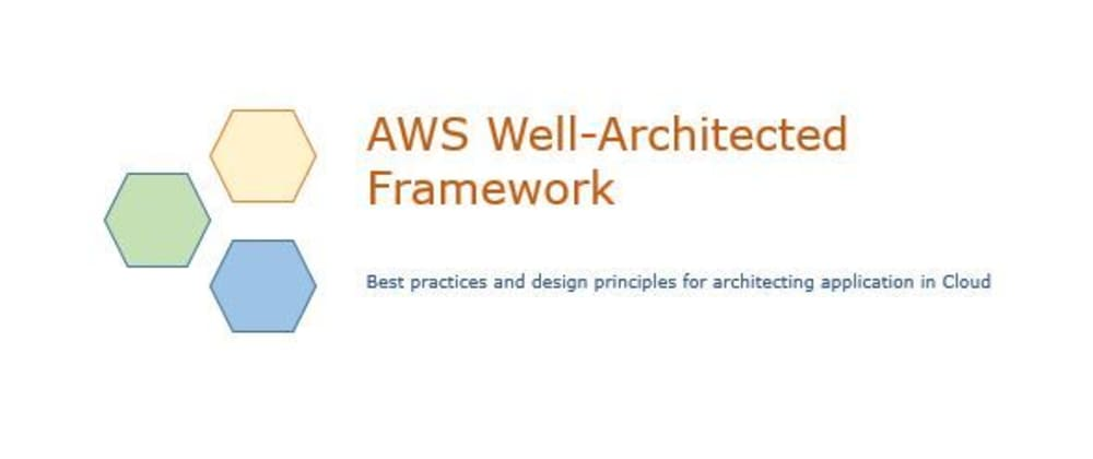 Cover image for AWS Well-Architected Framework - Best Practices to design systems in Cloud