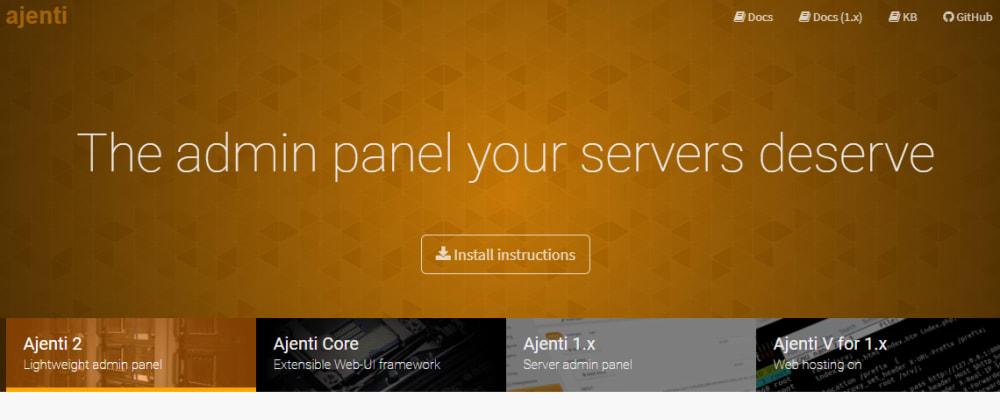 Cover image for Cara Install Ajenti Admin Panel Di CentOS/RHEL 7