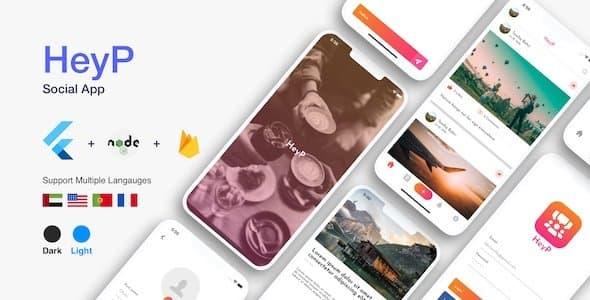 HeyP: Flutter Social App
