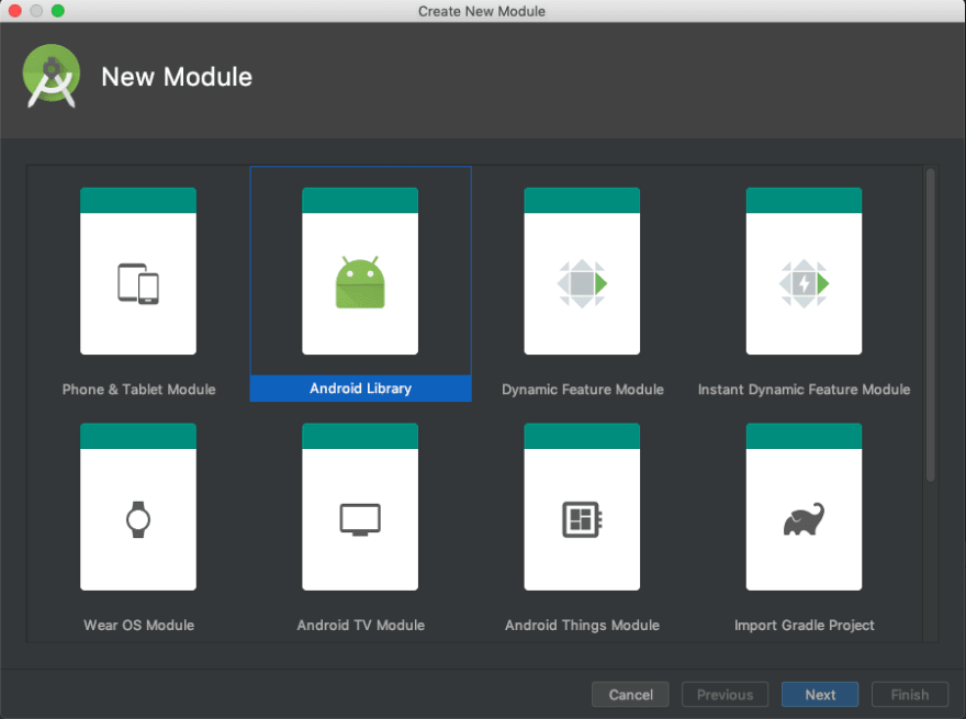 Creating the Android library