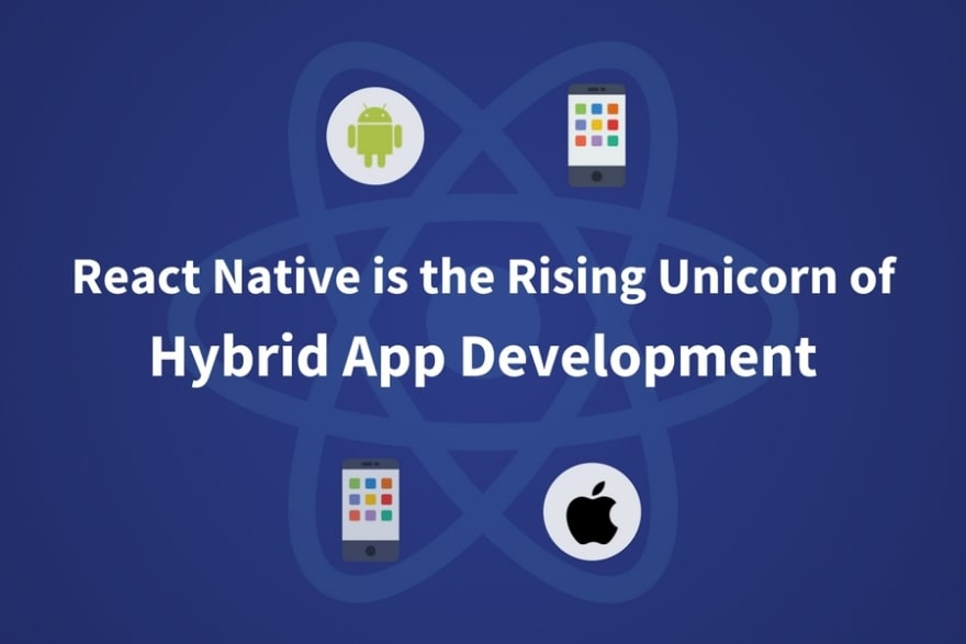hybrid app development using react native