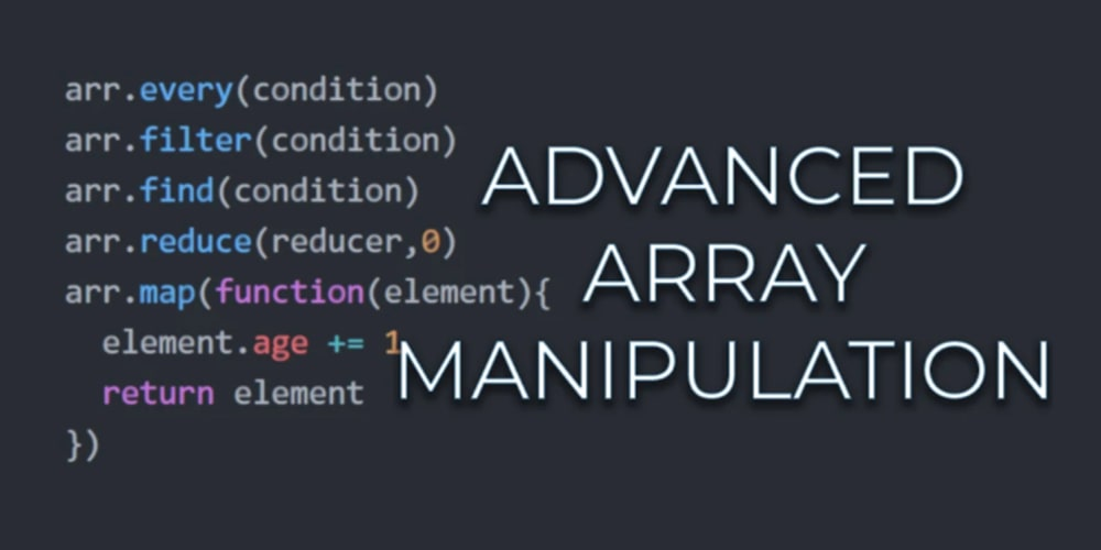 Array manipulation in JavaScript 🧐