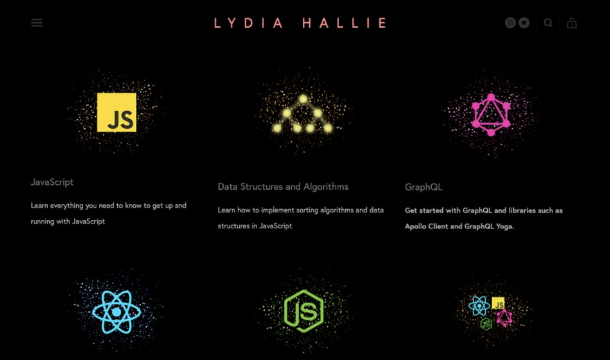 An interview with Lydia Hallie about how she learned coding