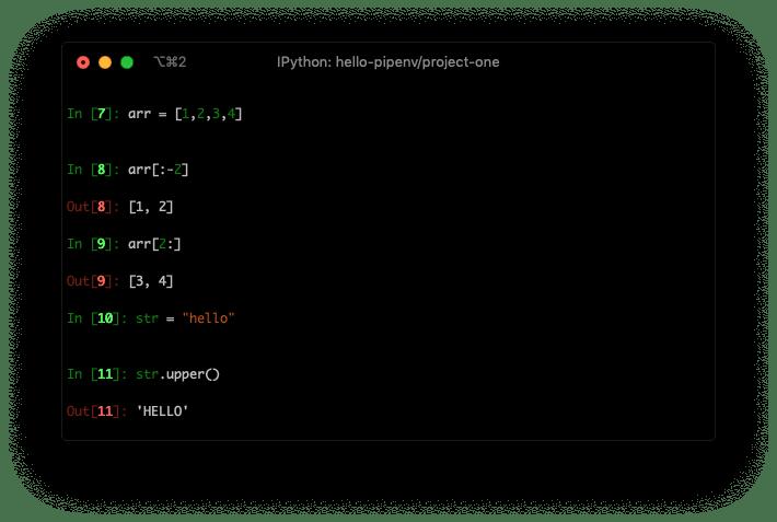 Python REPL