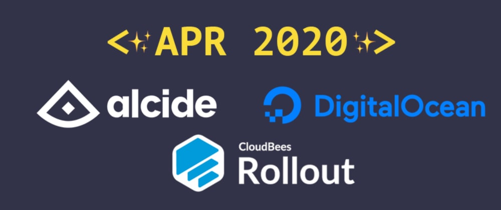 Cover image for Introducing our April 2020 sponsors