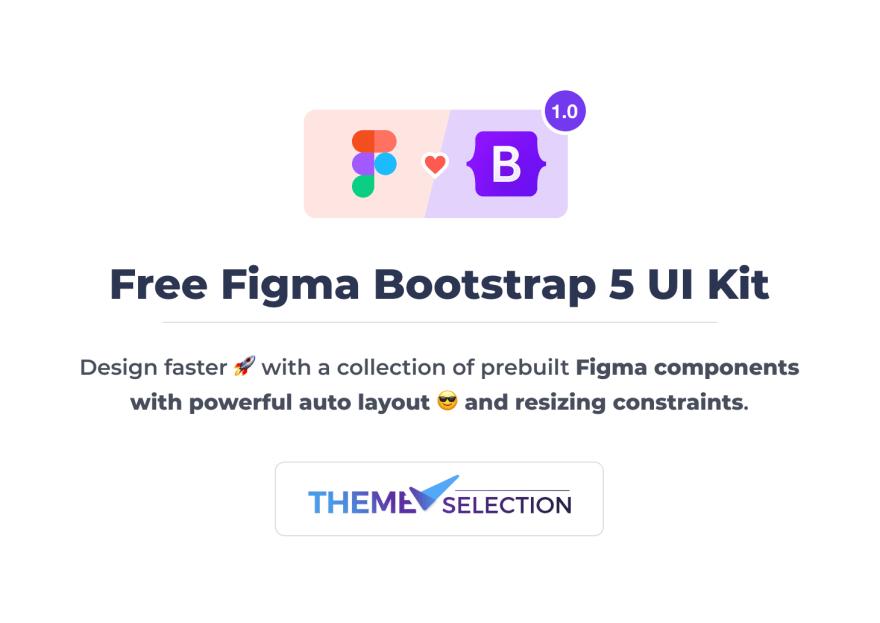 Free Figma Bootstrap UI Kit