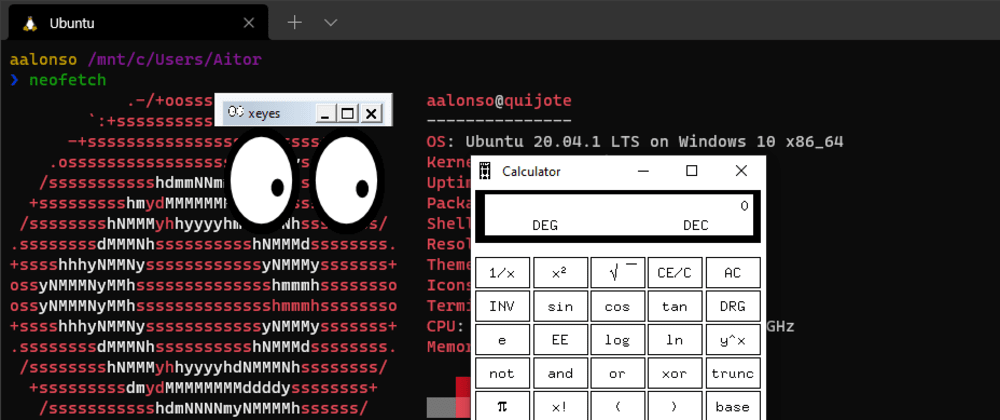 Cover image for How to use GUI apps in WSL2 (forwarding X server)