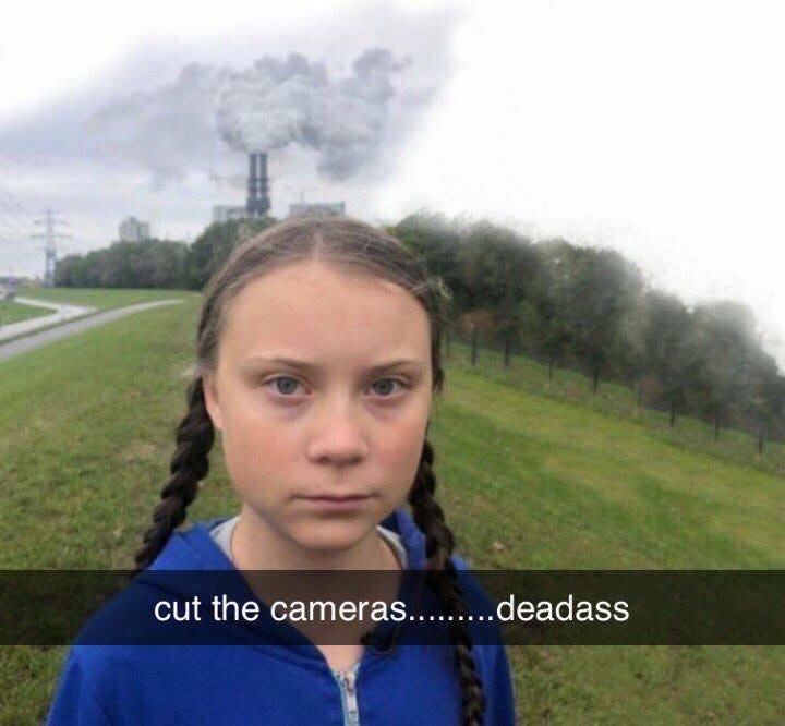 Cut the cameras. Deadass