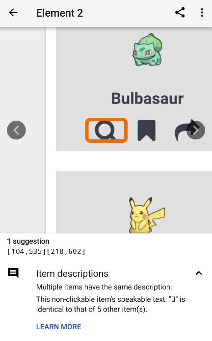 Same item descriptions