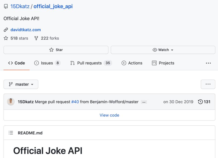 Jokes API