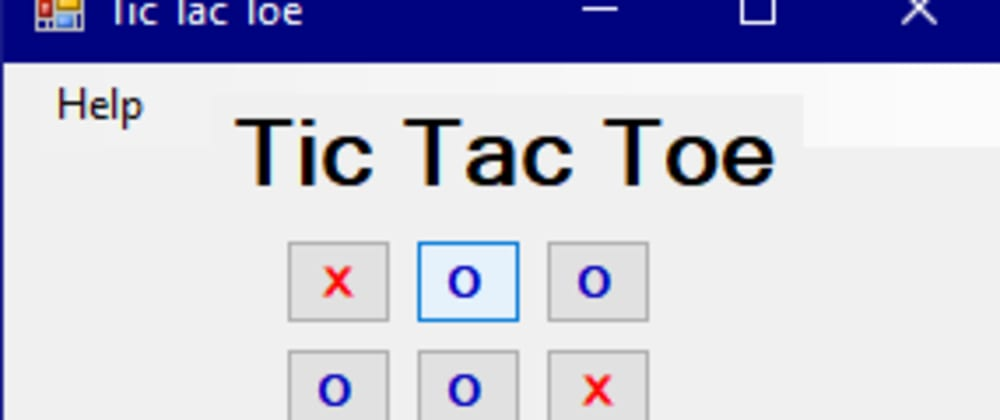 Cover image for How to create a Tic Tac Toe game in CLI/C++ in Windows