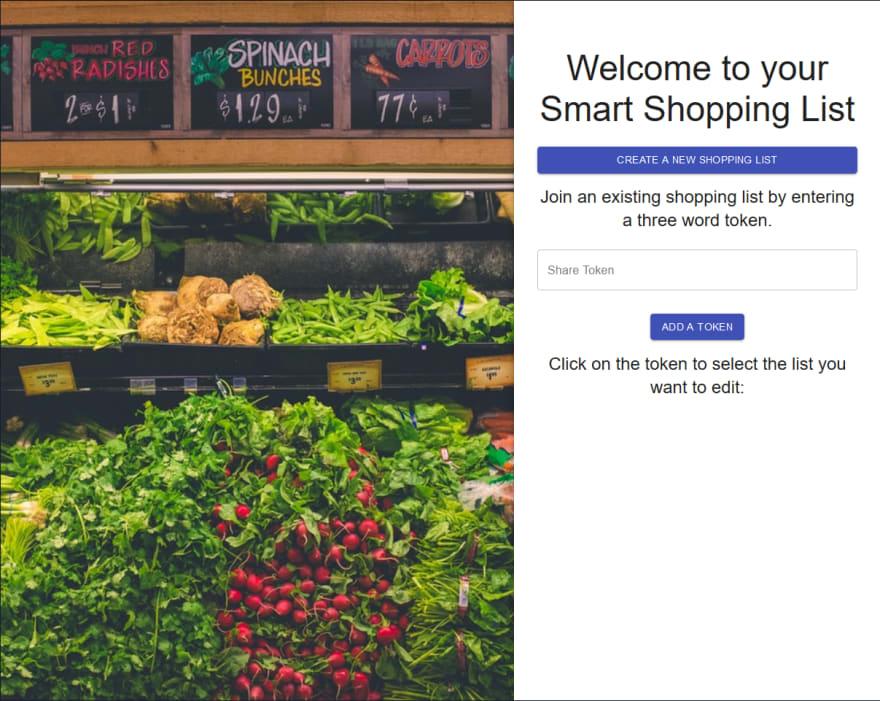 TCL-11's Shopping List App