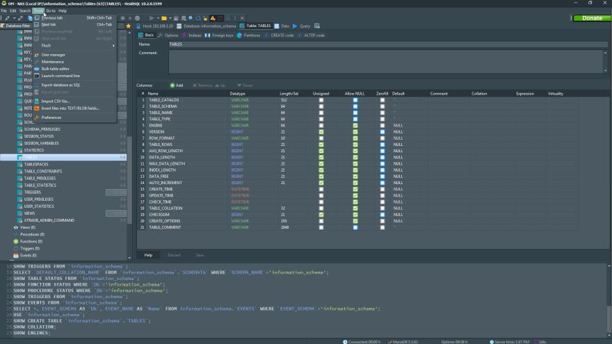 Which is the best PostgreSQL GUI? HeidiSQL