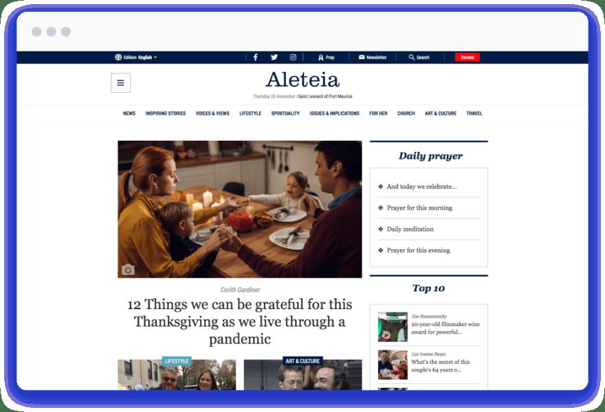 Aleteia Showcase Asset