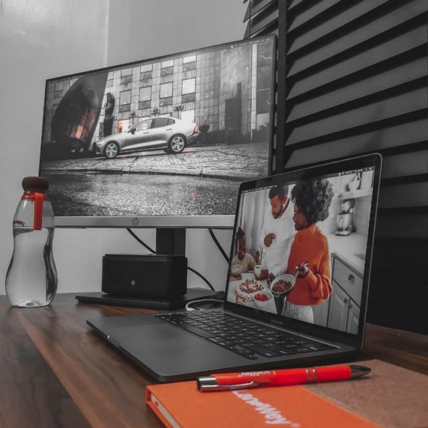 My work setup