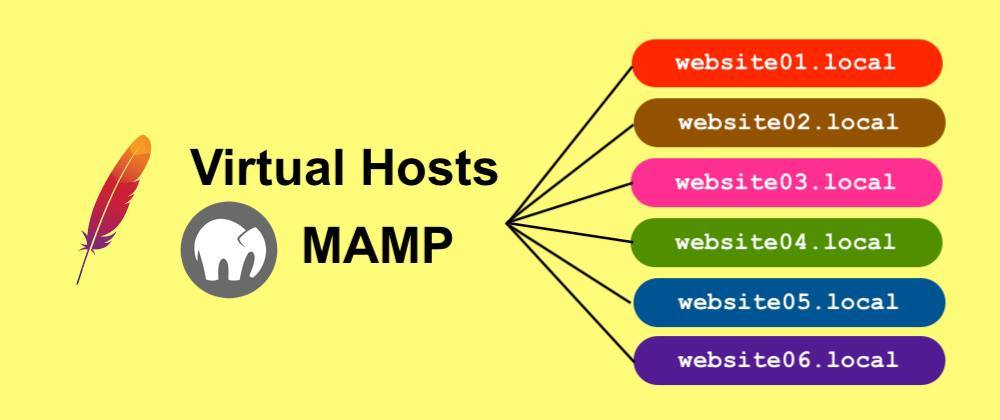 Cover image for MAMP ตั้งค่า Virtual Hosts