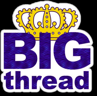 Big Thread badge