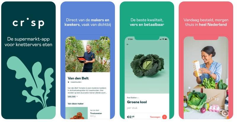 React Native apps: Crisp app screenshots