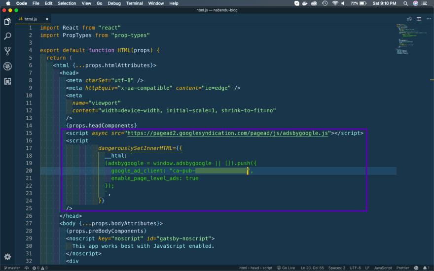 Update html.js