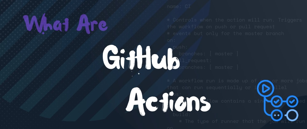 Cover image for What are github actions