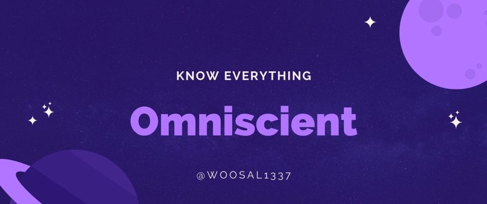 Cover image for omeniscient - One Tool For All