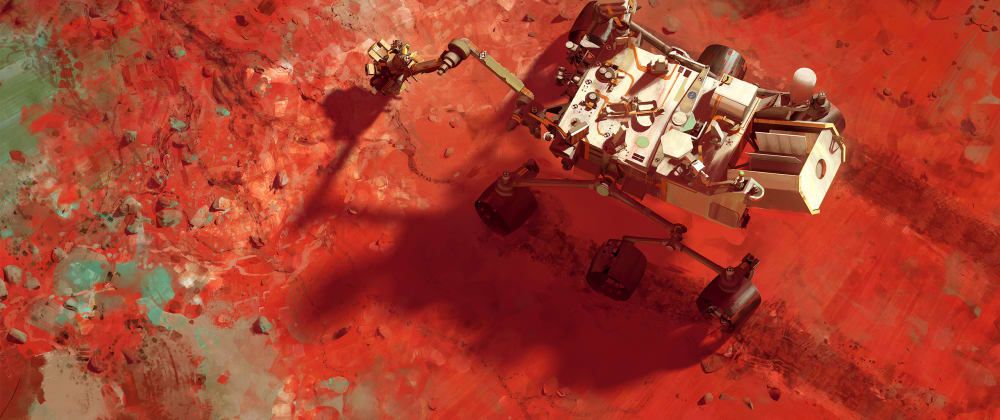 Cover image for A look at the Mars Rovers